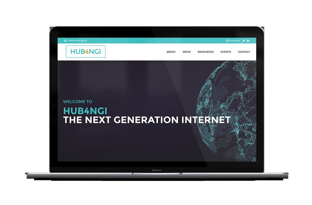 HUB4NGI website