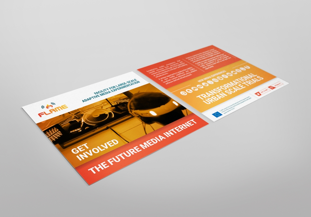 ICT FLAME - Postcard